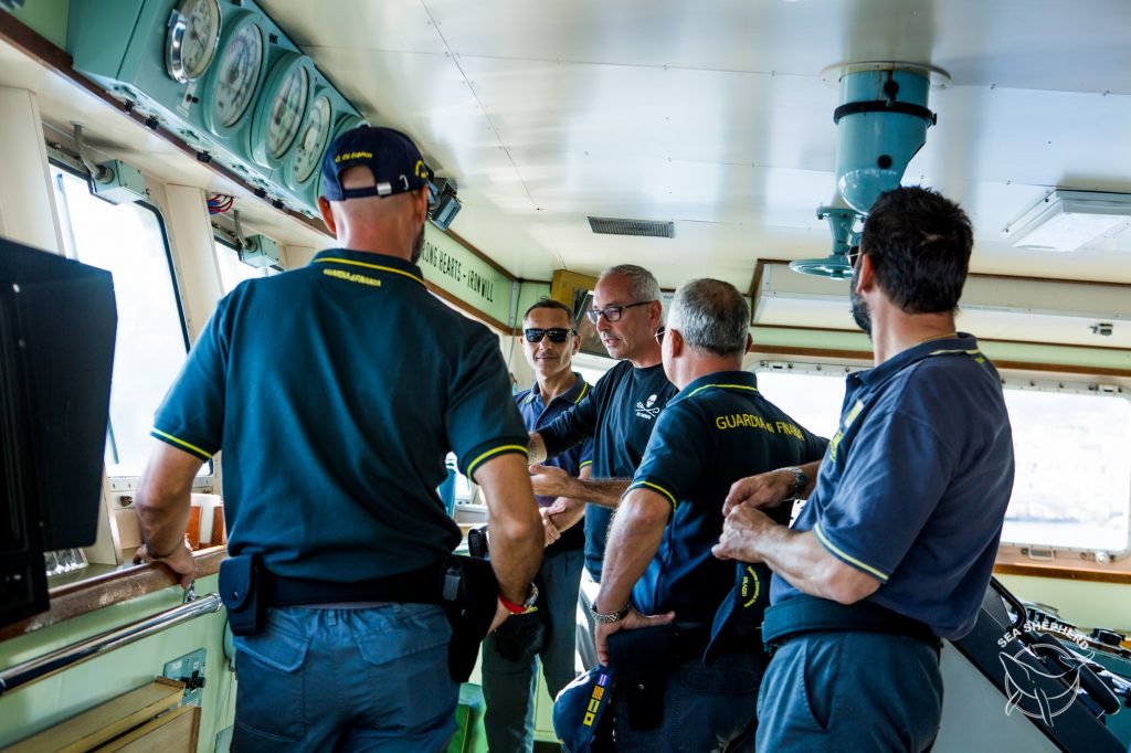operation siso 2018, aeolian islands, sicily-italy